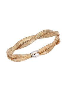 Βραχιόλι Χρυσή Χειροπέδα Δίχρωμη 14Κ Bracelets, Stuff To Buy, Jewelry, Fashion, Moda, Jewlery, Jewerly, Fashion Styles, Schmuck
