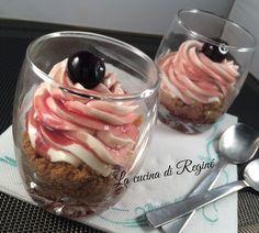 #Cheesecake al bicchiere velocissima# La cucina di Reginé