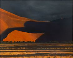 april gornik - sand, shadows, time, 2010, oil on linen.