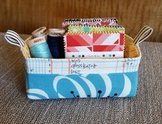 The Pixie Basket FREE Tutorial by Heidi Staples of Fabric Mutt