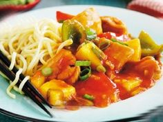 Kuracie soté na čínsky spôsob | Receptár Thai Red Curry, Ethnic Recipes, Food, Meal, Eten, Hoods, Meals