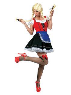 Tyrolerkjole Helga - kostyme til oktoberfest