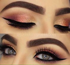 Lovely makeup looks! #ladyloungedotnet