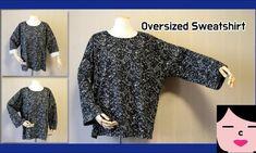 여자 오버사이즈 티셔츠 만들기 패턴 : 네이버 블로그 Sweatshirts, Blouse, Tops, Projects, Women, Fashion, Blouse Band, Hoodies, Blue Prints