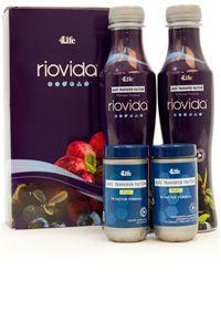 RioVida<sup>®</sup> Plus Pack/ WEB ONLY ordenar en www.immunetfplus.my4life.com to order check my web site  www.immunetfplus.my4life.com