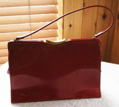 Ruby Red Vintage Purse Theodore California by ChevyLovesLaura, $25.00