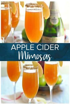 Light craft beer cocktails suitable for day drinking fun. Enjoy robust flavor and minimal alcohol. Apple Cider Alcohol, Apple Cider Cocktail, Cider Cocktails, Easy Cocktails, Summer Cocktails, Fall Drinks Alcohol, Alcohol Drink Recipes, Beer Mixed Drinks, Best Mimosa Recipe