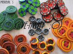 Buttons in fimo
