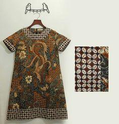 l M Blouse Batik, Batik Dress, Dress Batik Kombinasi, Batik Kebaya, Batik Fashion, Linen Dresses, Maternity Dresses, Ikat, Sewing Patterns