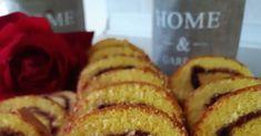 Να κεράσω γλυκάκι;  Εύκολο και πεντανόστιμο ρολό να συνοδεύσουμε τον καφέ μας και όχι μόνο.☕   Υλικα  4 αυγα  1 κουπα ζαχαρη  1 βανιλ... Dessert Recipes, Desserts, French Toast, Muffin, Brunch, Breakfast, House, Ideas, Food