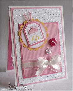 Baby card or put anything on tag for the occasion you want