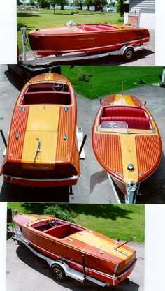 Classic Boats - Wooden Boats 20 ft Chris Craft Riviera