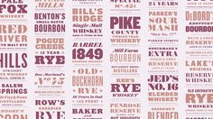 Barrel Proof | Discover.typography by H&Co Steam Age exuberance meets the pluck of the American frontier — all achieved using just three font families.