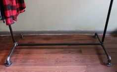 Industrial Clothing rack by MonroeTrades on Etsy