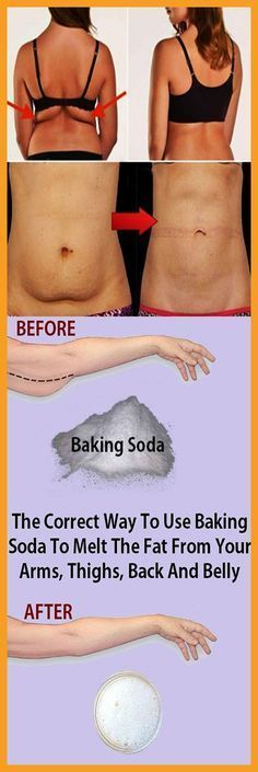 The Correct Way To Use Baking Soda To Melt The Fat From Your Arms, Thighs, Back And Belly#health #beauty #getrid #howto #exercises #workout #skincare #skintag #bellyfat #homeremdieds #herbal