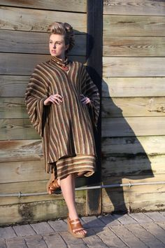 Designer Knit Cape with matching Skirt by TERRYTOCCIDESIGNS, $72.50