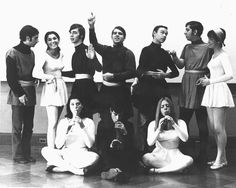 In 1968, Emerson College students show off their theatricality.