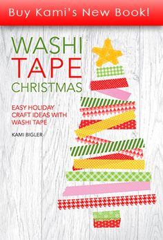 Washi Tape Christmas Book. Available now to buy.