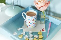 Confetti Heart Mug - Perfect for Valentines Day | Cath Kidston Spring Summer 2016