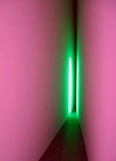 Dream Passage by James Turrell Neon Lighting, Lighting Design, Neon Rosa, Instalation Art, James Turrell, Light And Space, Foto Art, Light Art, Sculpture Art