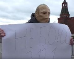 #Cronaca: #Oppositore indossa una maschera di Putin. Arrestato da  (link: http://ift.tt/23eROtE )