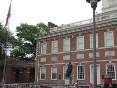 In July of we traveled to Philadelphia, and unfortunately did not get a chance to go inside Independence Hall, but we were able to visit outside of the building. It was surreal walk on the same streets and experience the building that our founding Independence Hall Philadelphia, Independence Day Holiday, Meeting Place, Get Tickets, The Province, World Heritage Sites
