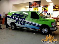 New Jersey and Pennsylvania HVAC contractor vehicle wraps advertising