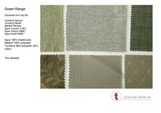 green fabric Thermal Blinds, Roman Blinds, Green Fabric, Roman Shades