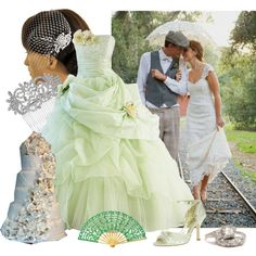 Disney Princess and the Frog themed wedding - Add in Princess and ...