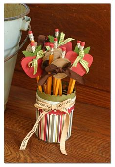 apple teacher gift