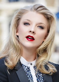 Natalie Dormer - Other worldly beautiful.