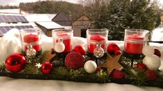 Advent Advent, Table Decorations, Christmas, Furniture, Home Decor, Crafting, Xmas, Decoration Home, Room Decor