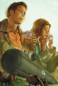 "Season 8, Issue 27: ""Retreat, Part II"" Cover by Jo Chen."