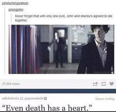 This is why Johnlock is so perfect. They're soul mates- platonic or not, I adore their relationship.