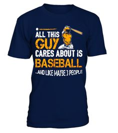 """# All This Guy Cares About Is Baseball Nice Gift T-shirt .  Special Offer, not available in shops      Comes in a variety of styles and colours      Buy yours now before it is too late!      Secured payment via Visa / Mastercard / Amex / PayPal      How to place an order            Choose the model from the drop-down menu      Click on """"Buy it now""""      Choose the size and the quantity      Add your delivery address and bank details      And that's it!      Tags: These tee shirts are a great…"""