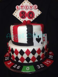 Casino cake by Angell Cakes
