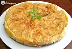 Receta de tarta de manzana fácil - Recetasderechupete.com