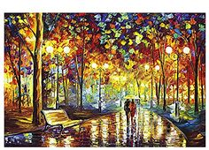 VICTORY-Jigsaw,Intellectiv Games Photomosaic Jigsaw Puzzle Wooden in a Box 2000 Piece 29.941.7'' Famous Paintings On The Road With You