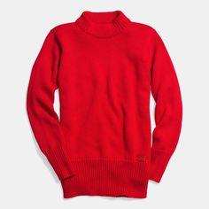 Coach Fall 2014: Merino Varsity Crewneck Sweater