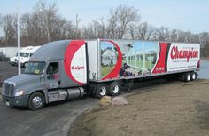 We wrap trucks of any size- our vehicle wraps are professionally installed.