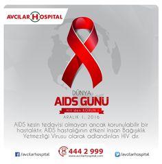 Bugün 1 Aralık Dünya Aids Günü  Hastalığın en yaygın bulaşma yolu ise korunmasız cinsel ilişki. Hayatınızı önemseyin, önleminizi alın. Dünyada AIDS'in bitirilmesine destek olun.  #aidsgünü #farkındalıkönemli #dünyaaidsgünü #worldaidsday #dokun #1aralik #dünya #aids #günü #hiv #istanbul #avcilar #avcilarhospital