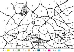 color by number coloring pages for adults girls and kids color - Kids Color Pictures