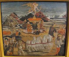 Lo Scheggia (Giovanni di Ser Giovanni detto) - Trionfo dell'amore - Pinacoteca Nazionale, Siena