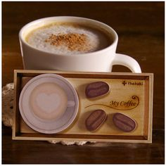 Coffee Bean Sticky Note