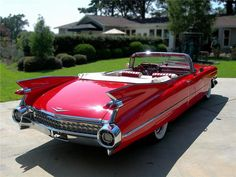 1959 CADILLAC my favorite of all old cars! I can see me and my beautiful wife Sandra on a weekend drive to the Beach!!