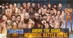 WWE WrestleMania 33 News: 7 WWE stars removed from the Andre the ...