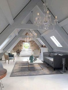 15 attic rooms that you would like to tidy up as quickly as possible . up room attic rooms that you want to tidy up as quickly as possible . - attic rooms that you would like to tidy up as quickly Attic Master Bedroom, Attic Bedrooms, Bedroom Loft, Huge Bedrooms, Diy Bedroom, Loft Bathroom, Bathroom Grey, Extra Bedroom, Bedroom Small