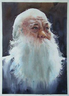 Boonkwang Nonchareon-2015 Int'l watercolor comp winner