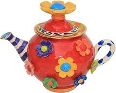Small Daisy Teapot