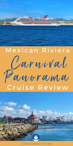 Are you planning a cruise vacation to the Mexican Riviera? Follow along on our 7-day journey through the Mexican Riviera onboard Carnival Panorama! The Mexican Riviera Carnival Panorama stops at 3 ports of call including Cabo San Lucas. Here we share all of the onboard activities, dining & drink reviews, cruise excursions, and things to do in the ports. Check out our post for all the details of this cruise ship, and all it has to offer. Start planning your next cruise destination now! Cruise Excursions, Cruise Destinations, Cruise Vacation, Southern Caribbean, Royal Caribbean Cruise, Cruise Ship Reviews, Msc Cruises, Celebrity Cruises, Princess Cruises